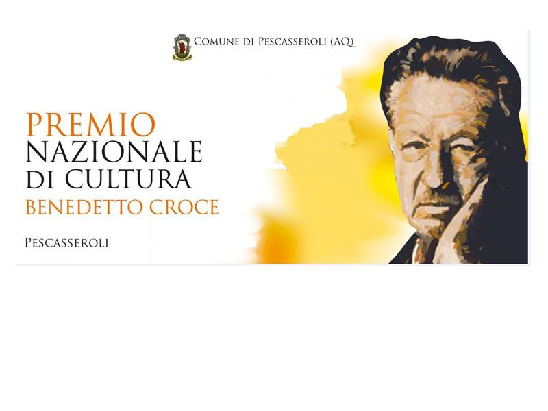 """Premio nazionale di cultura """"Benedetto CROCE"""" 2019"""