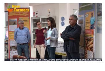 L'Istituto Agrario Serpieri di Avezzano ospita una puntata di NEW FARMERS