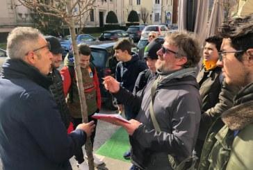 Gli studenti del Serpieri consulenti e coprotagonisti nella cura del verde urbano di Avezzano