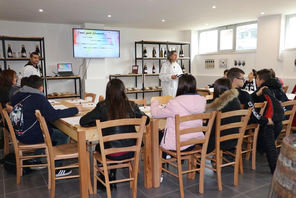 Progetto Q.A.S.A.: attività con gli studenti delle scuole medie di Magliano  e Cappelle dei Marsi - 10 dicembre 2019