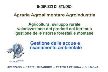 """L'Istituto """"A. Serpieri"""": una valida scelta per il proprio futuro!"""