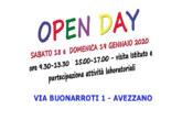 Avezzano – Open day 18 e 19 gennaio 2020