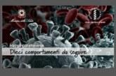 Nuovo Coronavirus: norme comportamentali