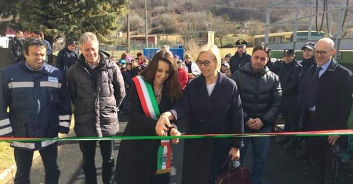 Inaugurato il nuovo impianto di depurazione delle acque a Carsoli