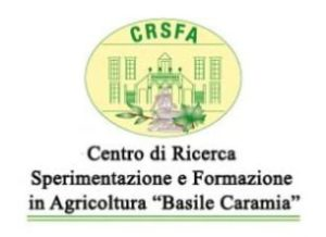 "CENTRO DI RICERCA ""BASILE CARAMIA"" (BA): AFFIDAMENTO DI INCARICHI"