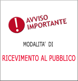 AVVISO RICEVIMENTO 250X260
