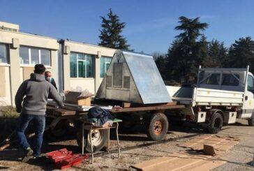 PNALM: consegnato pollaio a prova d'orso all'Istituto Agrario